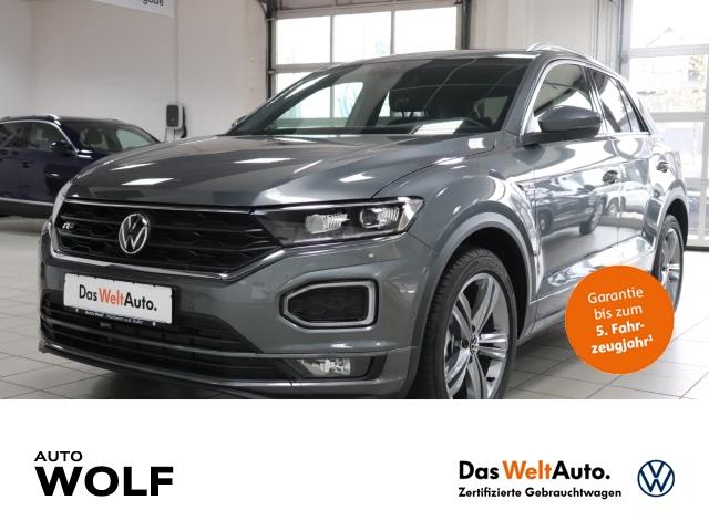 Volkswagen T-Roc Sport R-Line 1.5 TSI ACT EU6d LED Navi Keyless Kurvenlicht ACC Parklenkass., Jahr 2020, Benzin