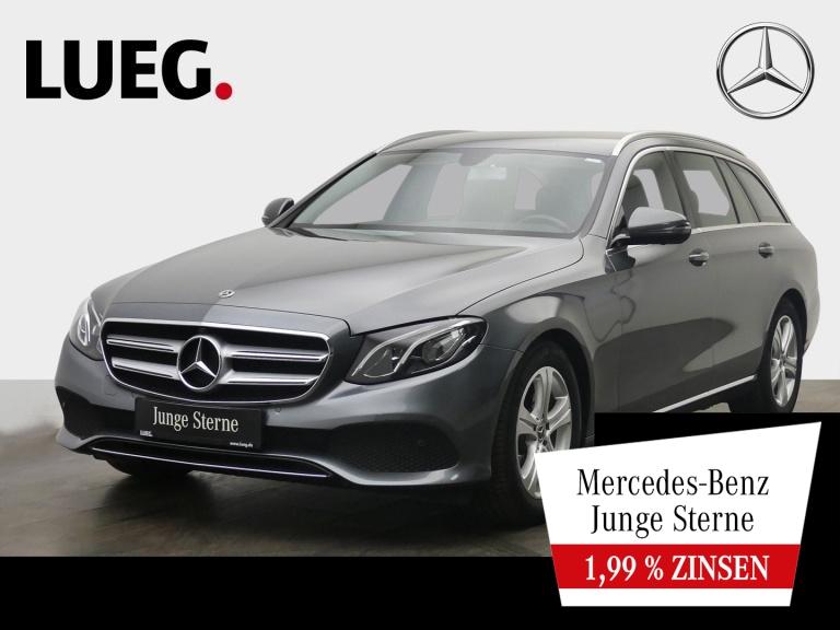 Mercedes-Benz E 200 T Avantgarde+Navi+LED-HP+eHeck+ParkAss+360, Jahr 2017, Benzin