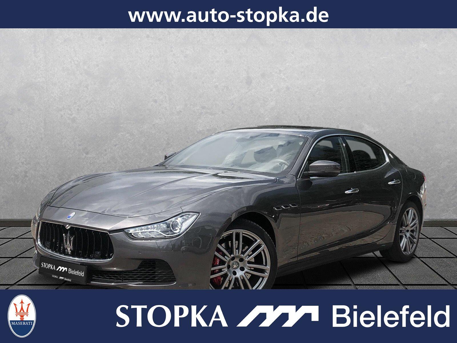 "Maserati Ghibli Diesel *ACC*SD*20""*El.Heckkl*Garantie, Jahr 2017, diesel"