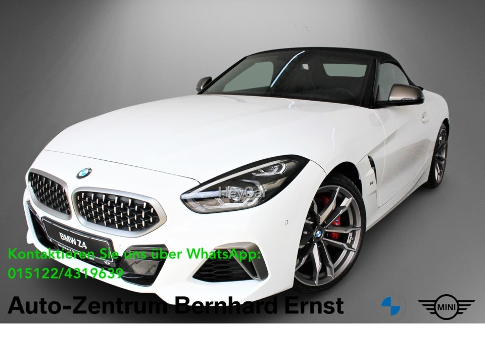 BMW Z4 M40i Cabrio H+K. Sport Aut. Head-Up, Jahr 2021, Benzin