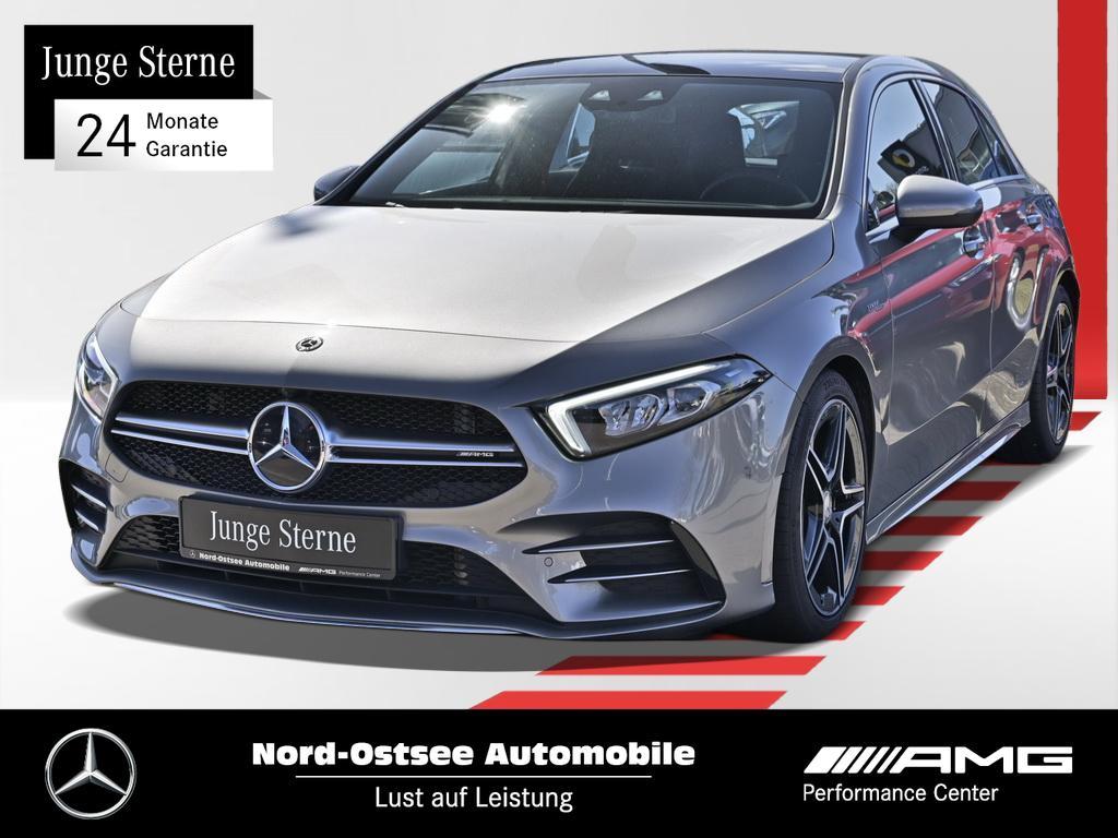 Mercedes-Benz A 35 AMG 4M AMG-Line Pano MBUX Navi LED PDC, Jahr 2019, Benzin