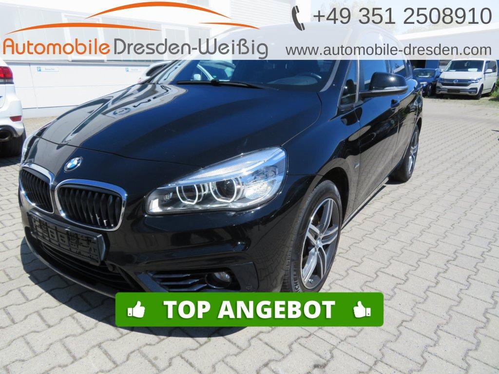 BMW 218 Active Tourer d Sport Line*Navi*LED*Parkassist, Jahr 2017, Diesel
