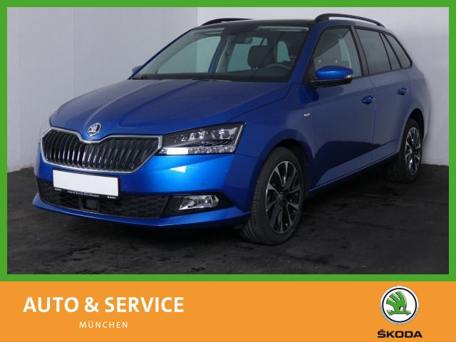 Skoda Fabia Combi 1.0 TSI Best of Drive Pano|Blue|Navi, Jahr 2020, Benzin