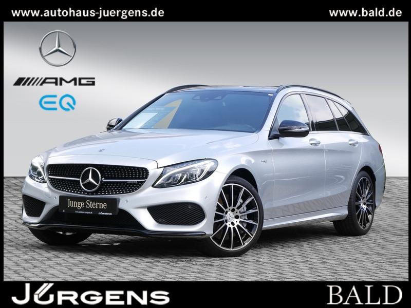 Mercedes-Benz C 43 AMG 4M T Performance/Comand/Pano/Burm/HUD, Jahr 2017, Benzin