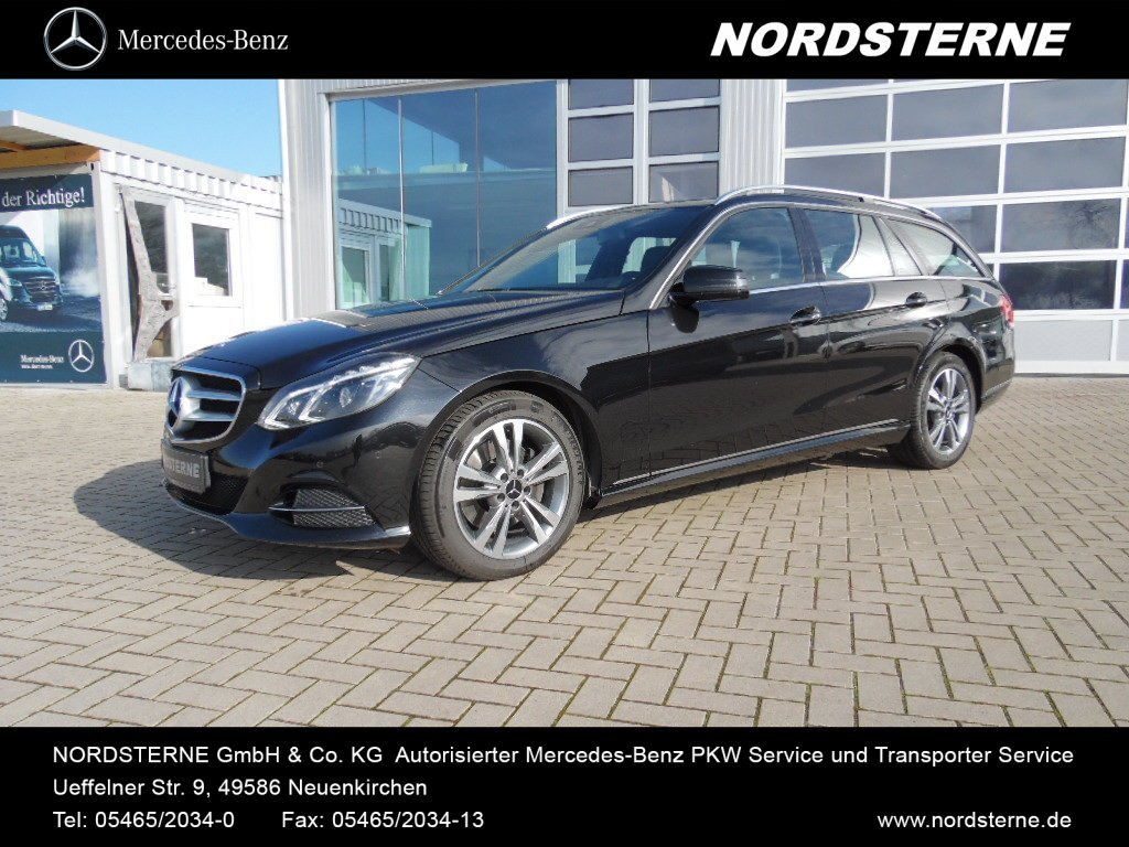 Mercedes-Benz E 350BT AVANTGARDE+ 4M+COMAND+LED+AHK+PTS+SHD, Jahr 2014, Diesel
