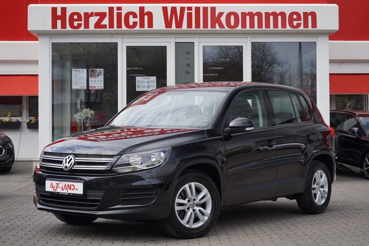Volkswagen Tiguan, Jahr 2014, Benzin
