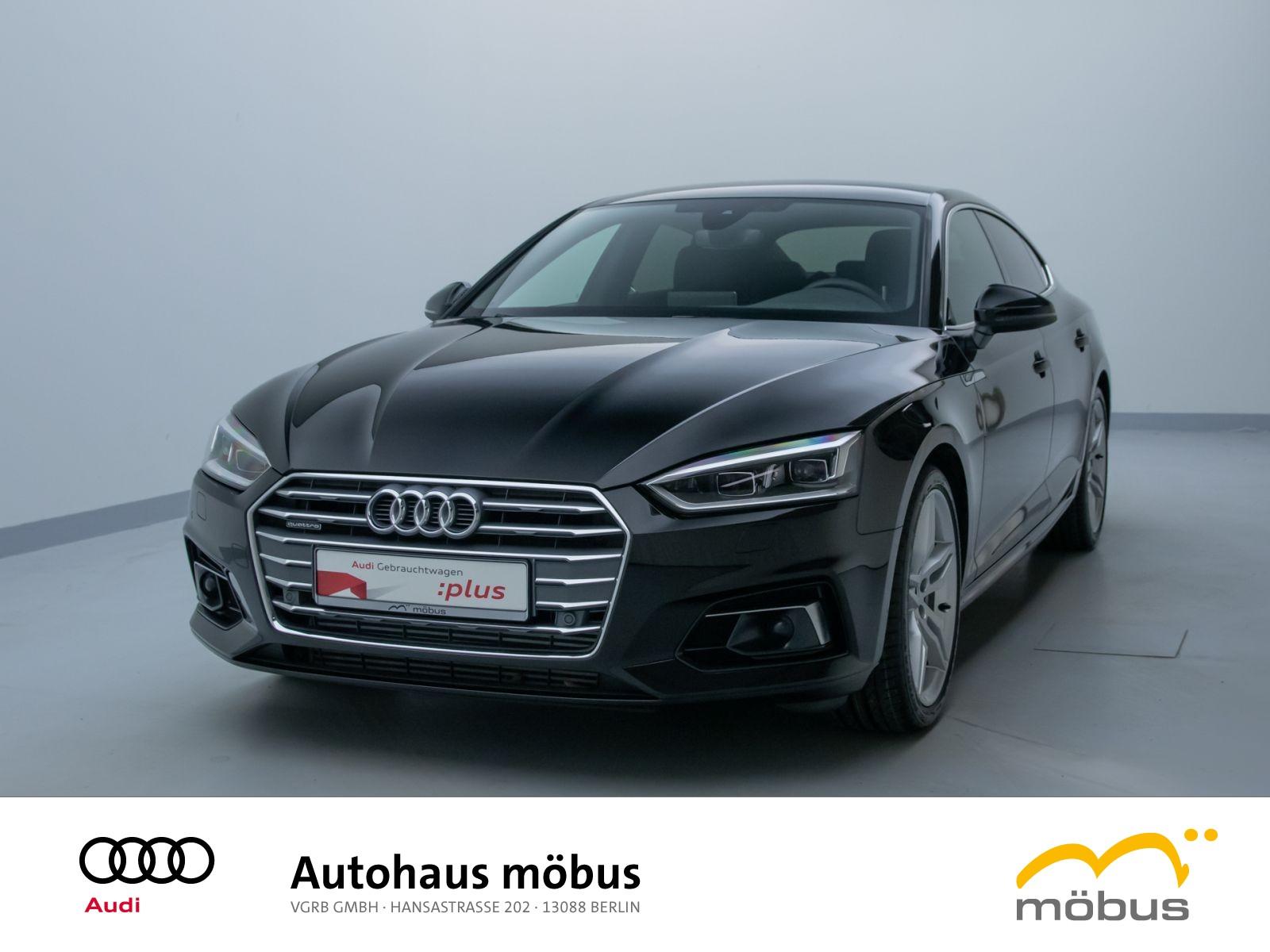 Audi A5 Sportback sport 45 TDI QU*TIPT*SLINE*ASSIST, Jahr 2019, Diesel