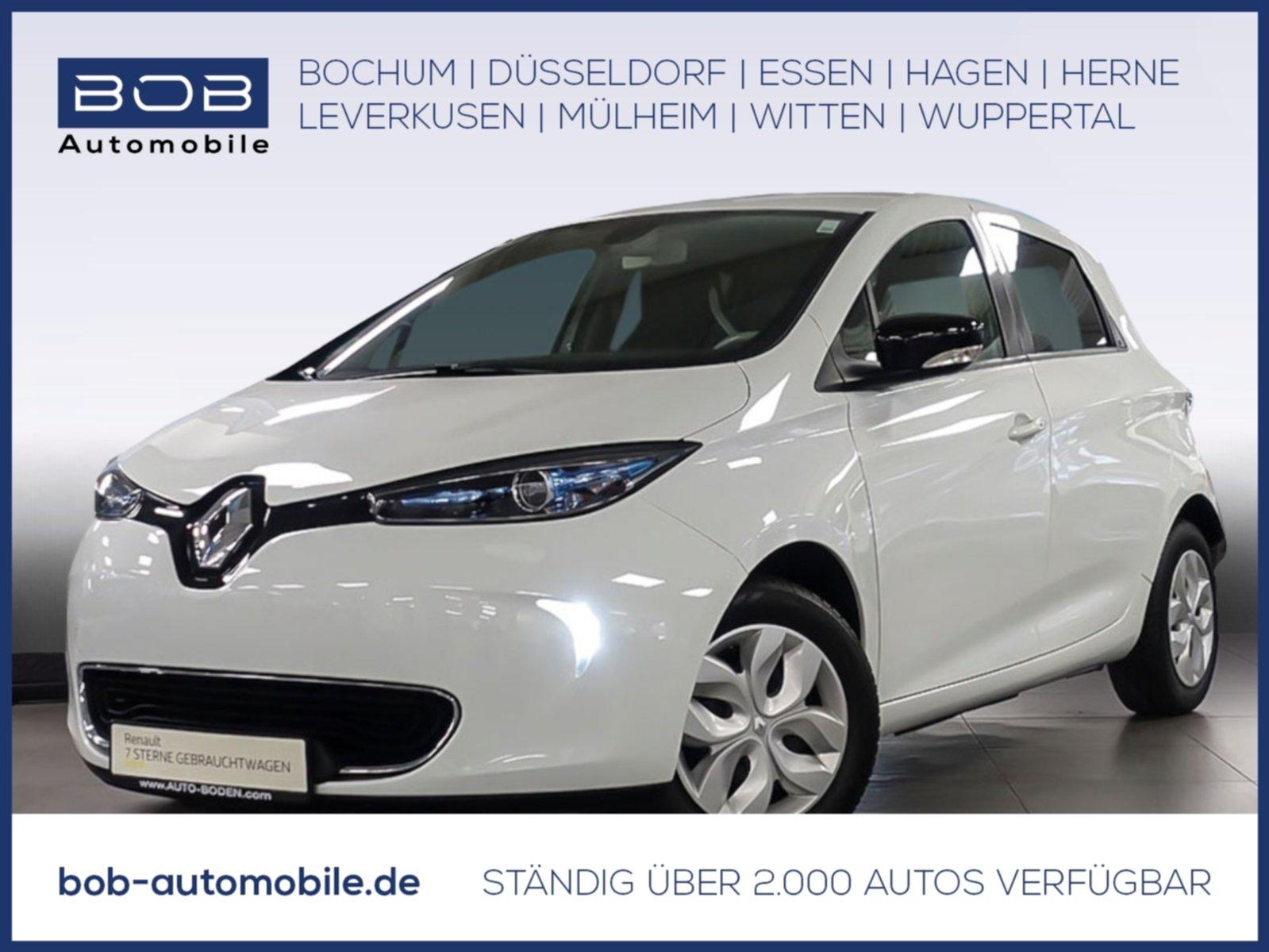 Renault ZOE ZE40 LIFE zzgl. Batteriemiete NAVI KLIMA BT, Jahr 2017, Elektro