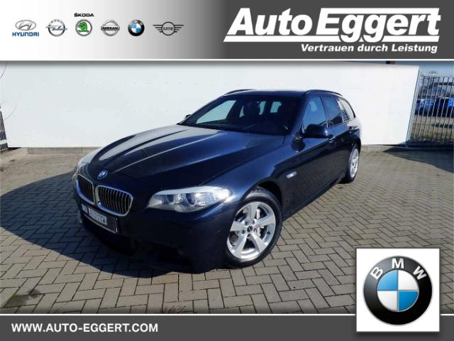BMW 528 i Touring M-Sportpaket Leder Navi Keyless Panorama Niveau Fernlichtass. Holzausst., Jahr 2012, petrol