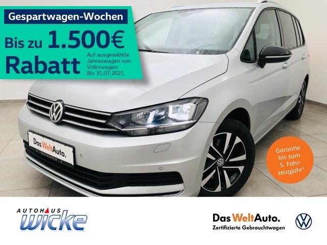 Volkswagen Touran 1.5 TSI IQ.DRIVE 7.Sitzer ACC Navi SHZ, Jahr 2019, Benzin