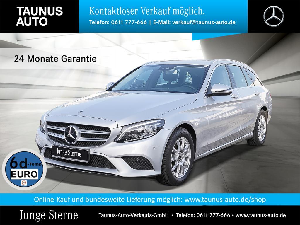 Mercedes-Benz C 160 T AVANTGARDE COMAND AHK MULTIBEAM, Jahr 2019, Benzin