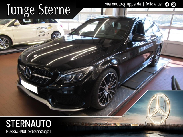 Mercedes-Benz C 450 AMG T 4M Automatik Panoramadach COMAND ILS, Jahr 2016, Benzin