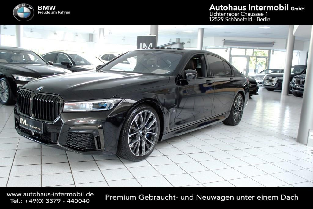 BMW 745 e iPerformance M-Sport*Nachtsicht*NP:147.T€, Jahr 2019, Benzin