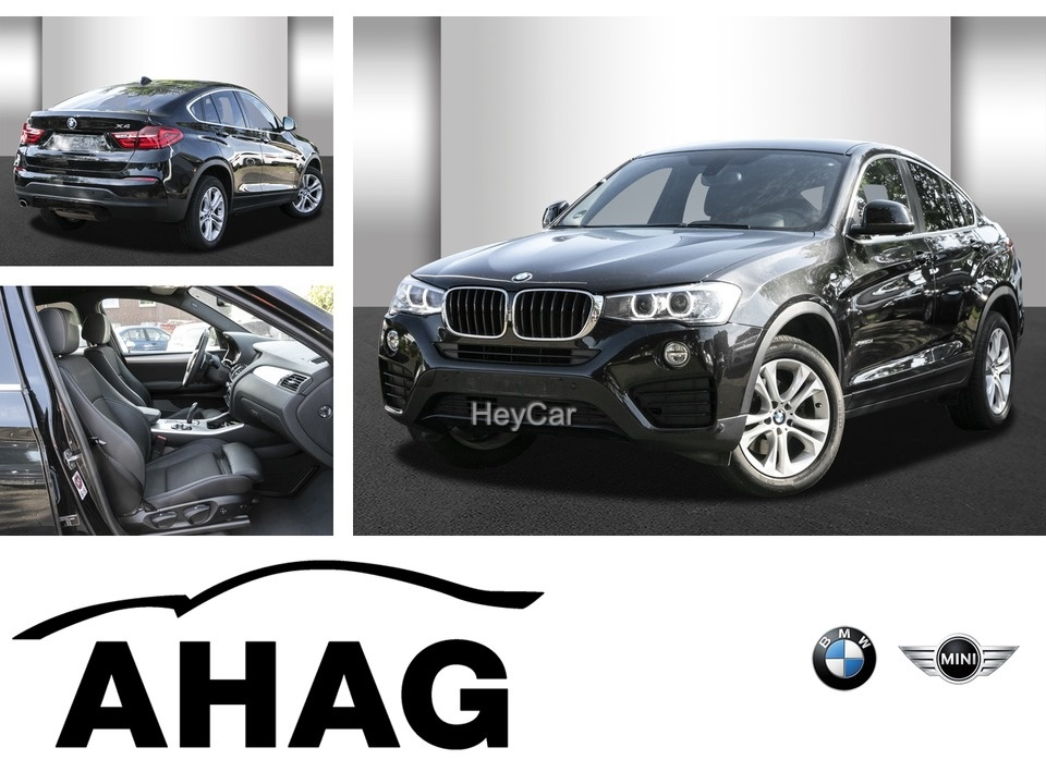 BMW X4 xDrive20d Advantage Navi Business Klimaaut., Jahr 2016, Diesel