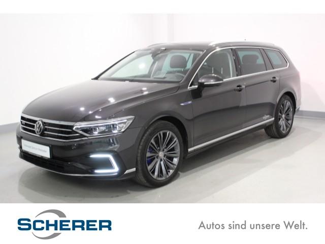 Volkswagen Passat GTE Variant . 1,4 l TSI mit E-Motor 115 kW (156 PS) / 85 KW (115 PS) 6-Gang-Doppelkupplungsgetriebe DSG Passat GTE Variant, ALU, LED,NAVI,LEDER, DSG, Jahr 2020, Benzin