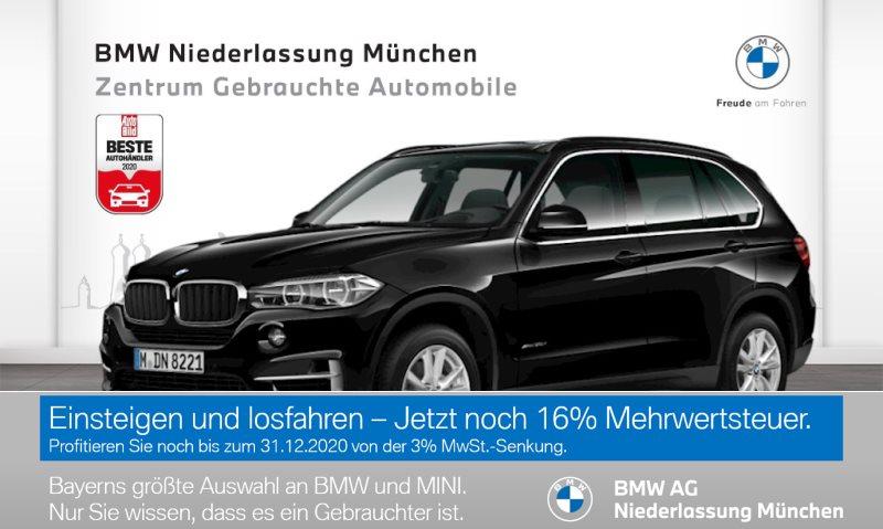 BMW X5 xDrive30d Head-Up LED Spurwarng. Pano.Dach EURO 6, Jahr 2017, Diesel