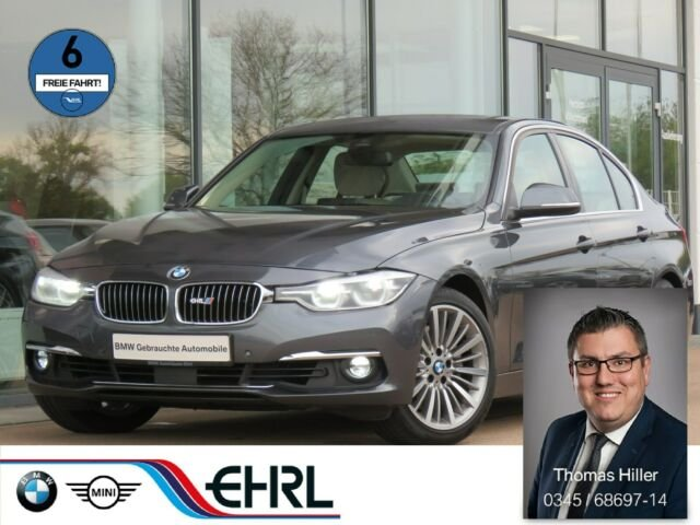 BMW 340i Luxury Line *1. Hand * Head Up * Leder *LED, Jahr 2016, petrol