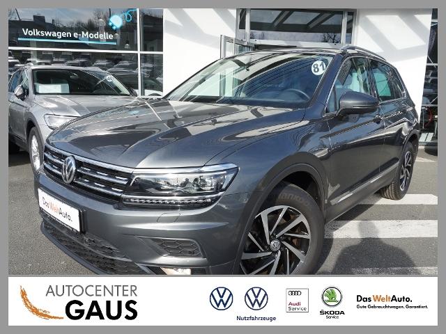 Volkswagen Tiguan Join 2.0 TDI AHK LED Navi ACC SHZ, Jahr 2018, Diesel