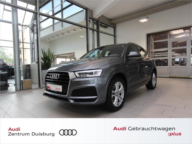 Audi Q3 2.0 quattro S-tronic 3xS-line Kamera Alcantara, Jahr 2018, Benzin