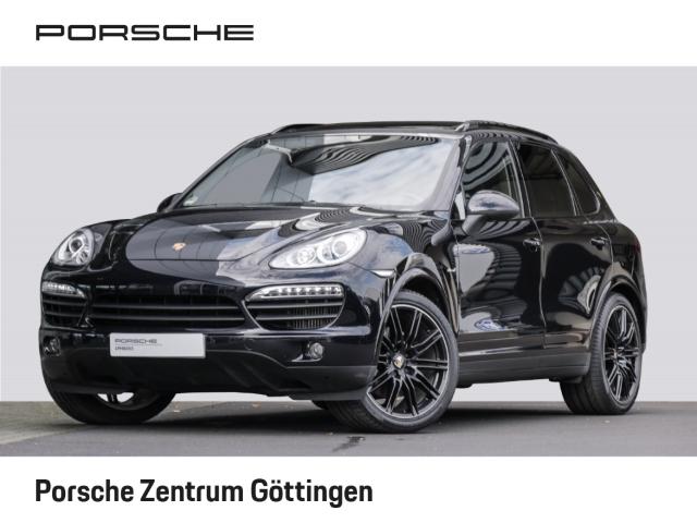 Porsche Cayenne S Diesel AHK-el. klappb. Panorama Bose Verkehrszeichenerk. Luftfederung, Jahr 2014, Diesel