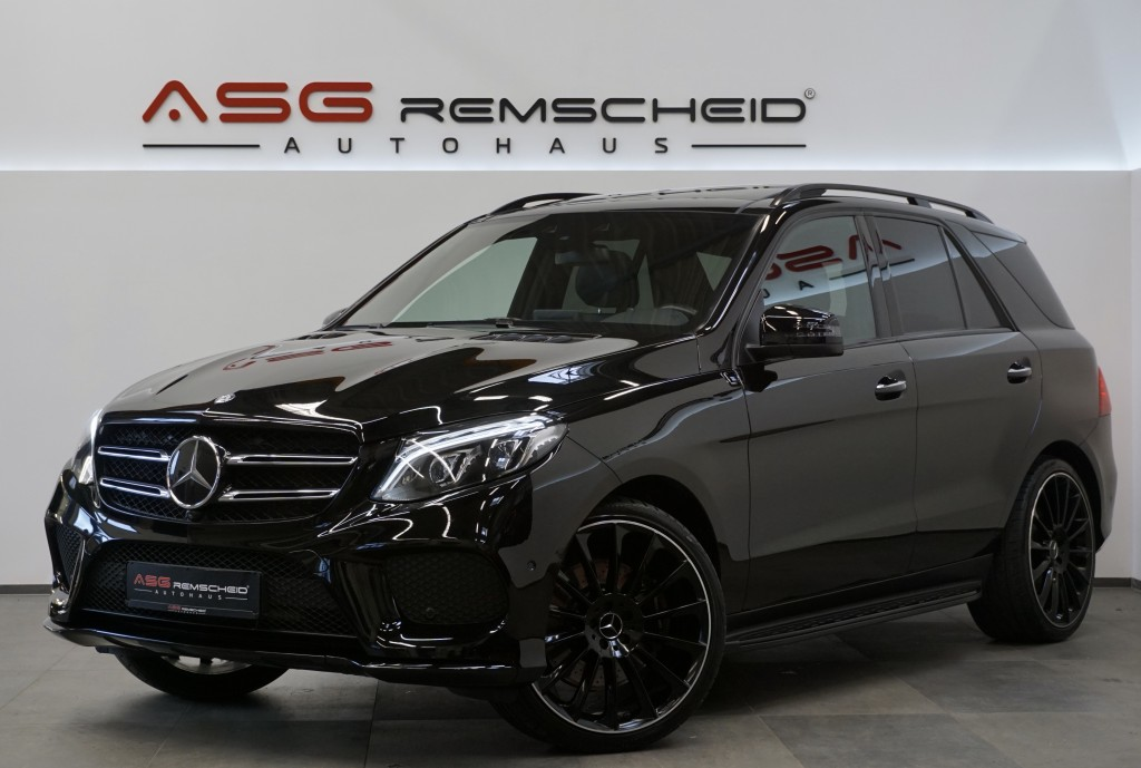 Mercedes-Benz GLE 450 AMG Line 4M *Pano *21*Carbon *Distro, Jahr 2016, Benzin