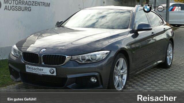 "BMW 440i A Gran Coupè M-Sportpaket,HUD,RFK,Navi,18"", Jahr 2016, petrol"