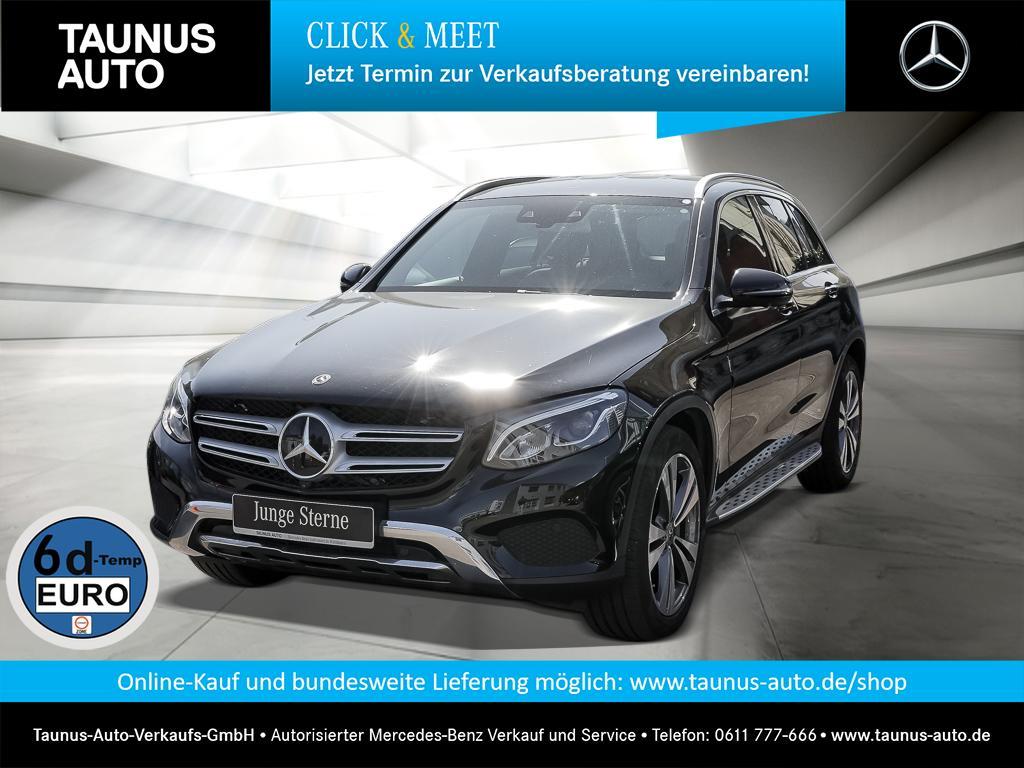 Mercedes-Benz GLC 300 4M DISTRONIC STANDH. HUD NAVI LED KAMERA, Jahr 2018, Benzin