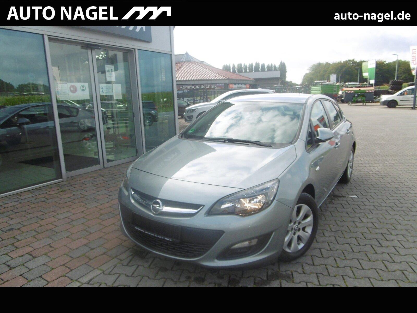Opel Astra J 1.6 Edition Klima/MF-Lenkrad/BC/eFH., Jahr 2015, Benzin