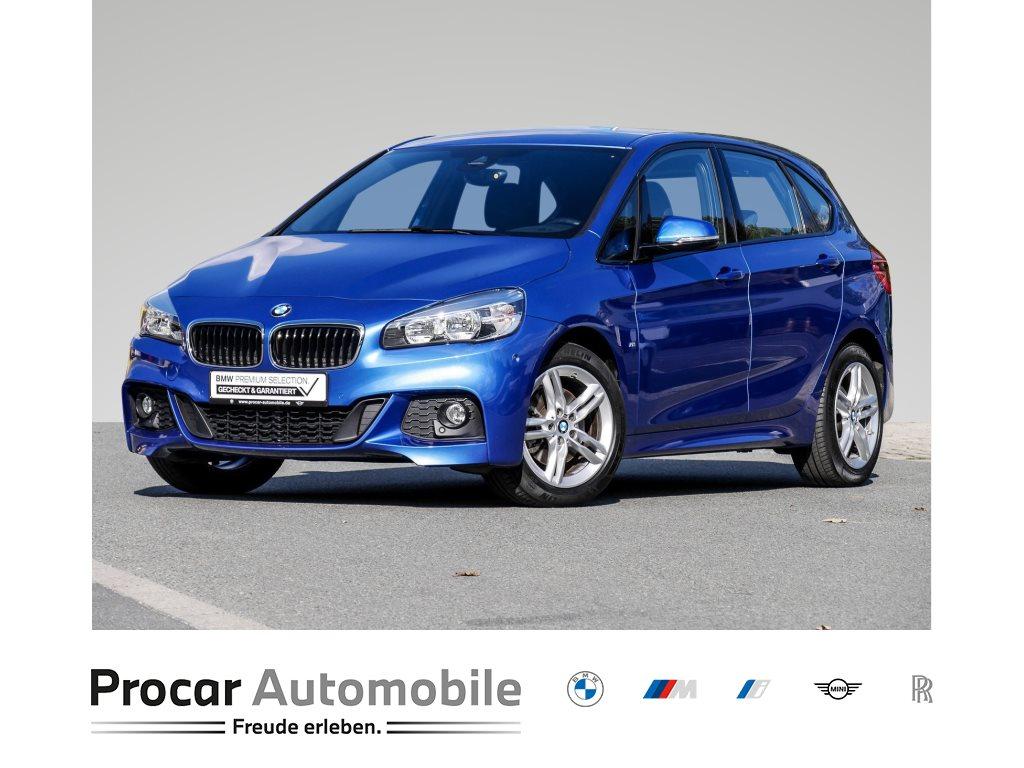 BMW 218i M Sportpaket Navi Tempomat Sitzheizung Business Paket Parkassistent CD Lordosenstütze 1. Hand, Jahr 2016, Benzin