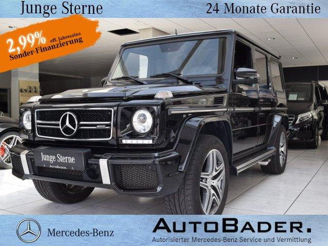 Mercedes-Benz G 63 AMG Distronic Standhzg Sound AHK FondEntert, Jahr 2015, petrol