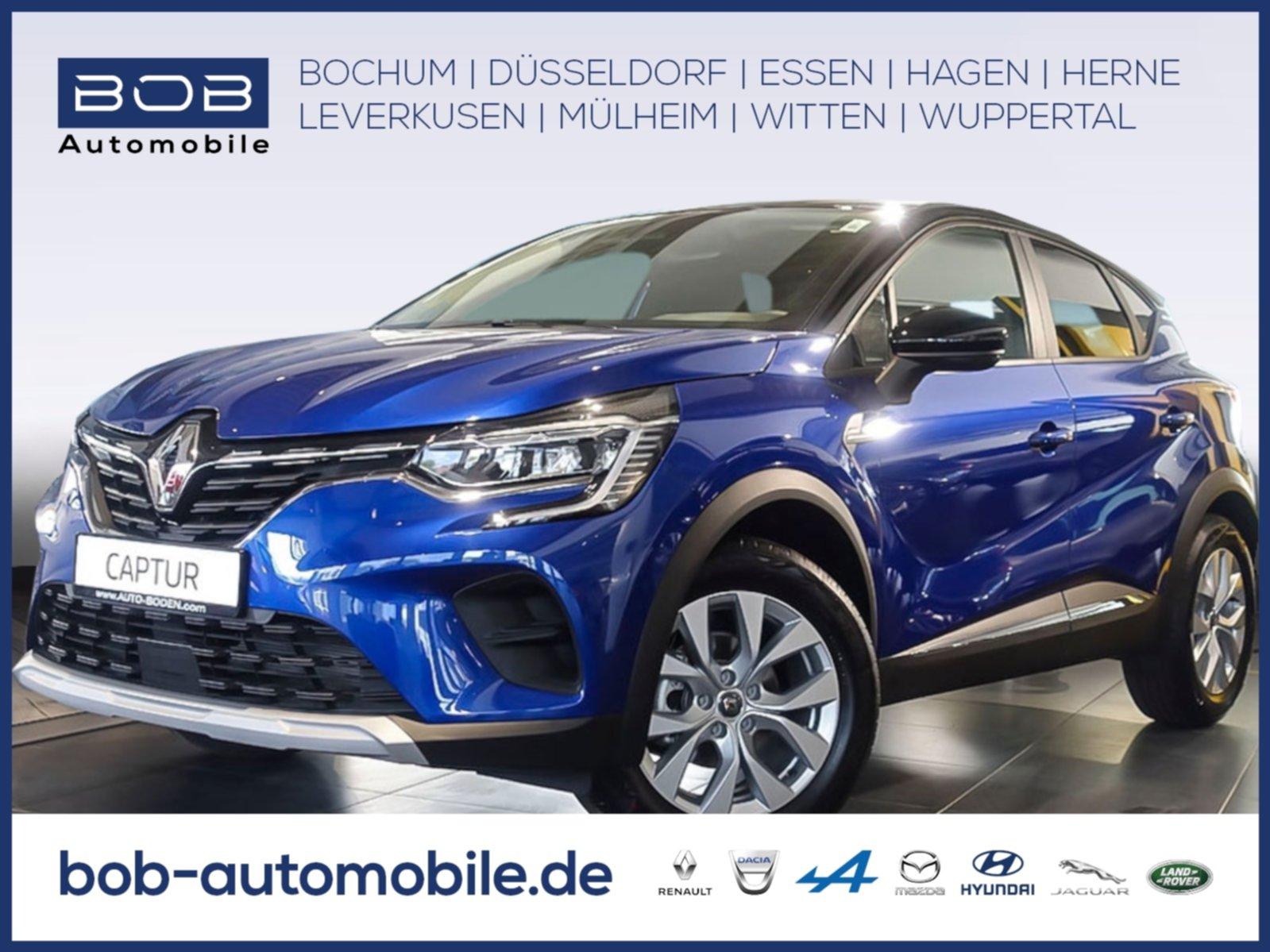 Renault Captur EXPERIENCE TCe 100 SHZ PDC KLIMA, Jahr 2020, Benzin