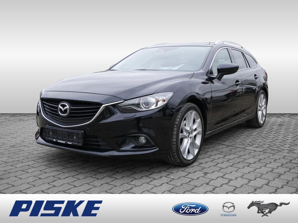 Mazda 6 Sportsline Xenon Kombi, Jahr 2015, Diesel