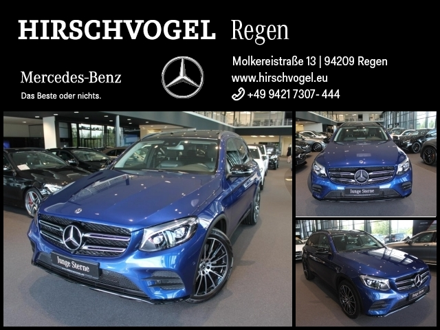 Mercedes-Benz GLC 350 d 4M AMG-Line+Night+Pano+Com+ILS+360°Kam, Jahr 2018, Diesel