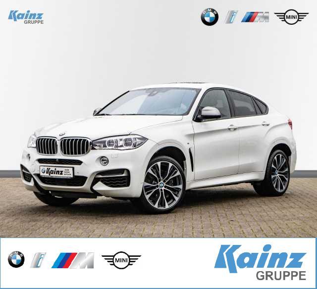 BMW X6 M50d EU6/ adapt. LED/ Memorysitz/ Driving Assistant Plus/ AHK/ Soft Close/ HUD, Jahr 2017, Diesel