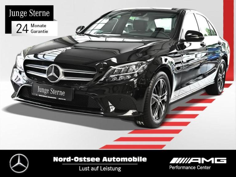 Mercedes-Benz C 200 d Avantgarde Navi LED SHZ Kamera Keyless, Jahr 2020, Diesel