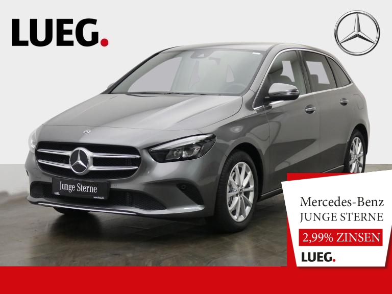 Mercedes-Benz B 200 Progressive+MBUX+NavPrem+LED-HP+Spur+ParkA, Jahr 2019, Benzin
