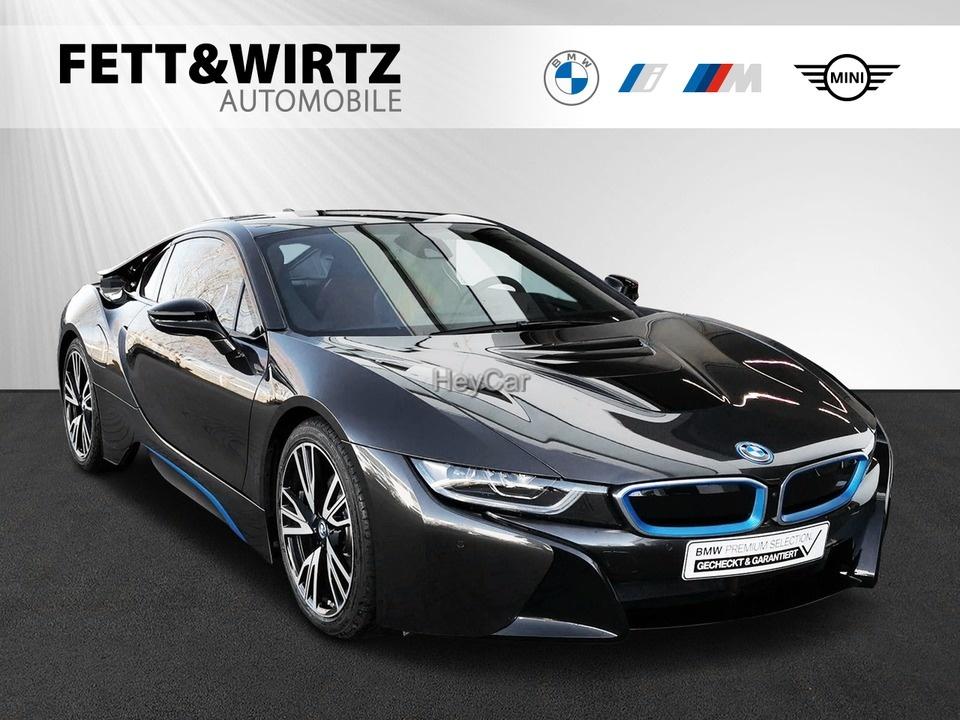 BMW i8 Coupe Laser HUD Leas. ab 1.122,- br. o. Anz., Jahr 2020, Hybrid