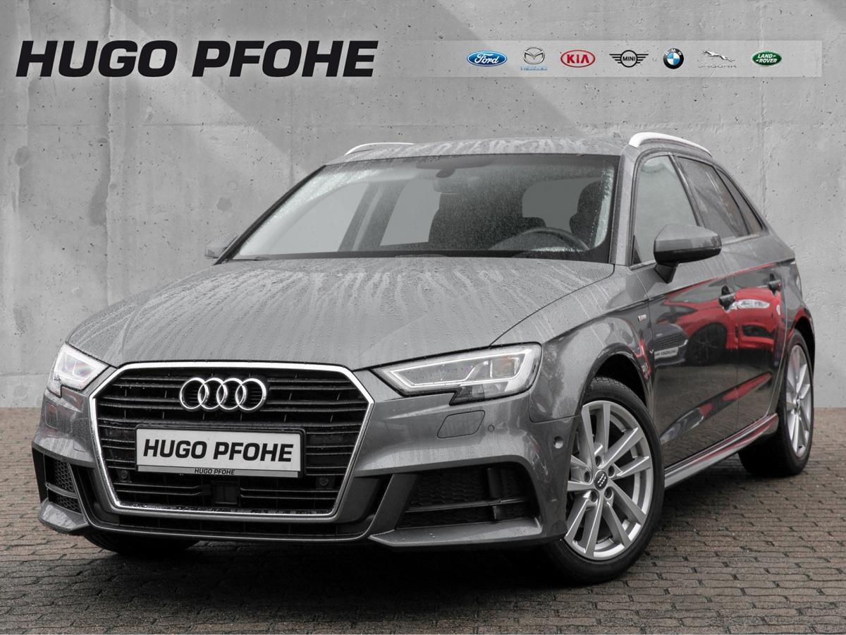 Audi A3 Sportback S-Line 1.4 TFSI DSG Navi LED Alcan, Jahr 2017, Benzin