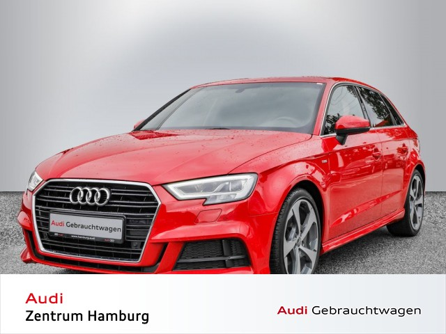 Audi A3 Sportback 2,0 TDI sport 6-Gang S LINE NAVI LED, Jahr 2016, Diesel