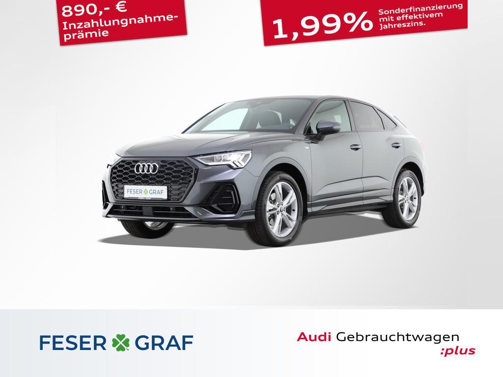 Audi Q3 Sportback S line 2.0 TDI S tronic Virtual 19`, Jahr 2021, Diesel