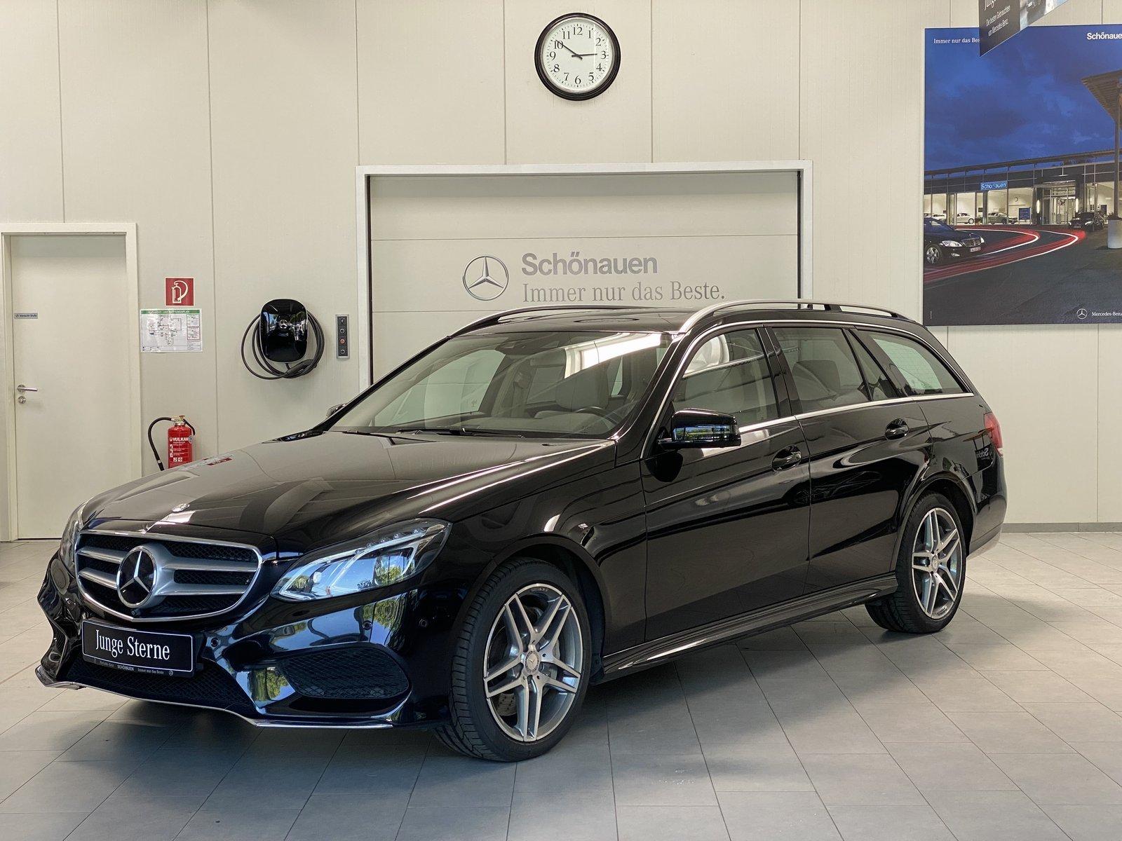 Mercedes-Benz E 500 4M T AMG+AHK+AIRMATIC+HARMAN+DISTRONIC+SHD, Jahr 2016, Benzin