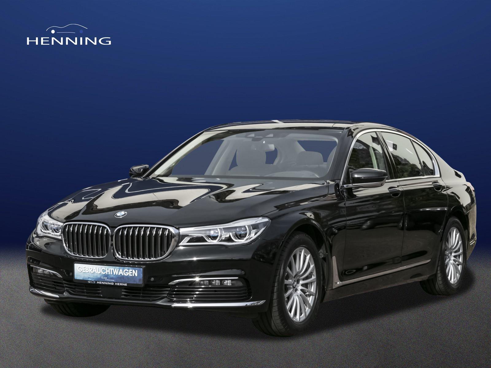 BMW 740 i *Laserlicht* Head Up*Assistenssysteme uvm., Jahr 2016, Benzin