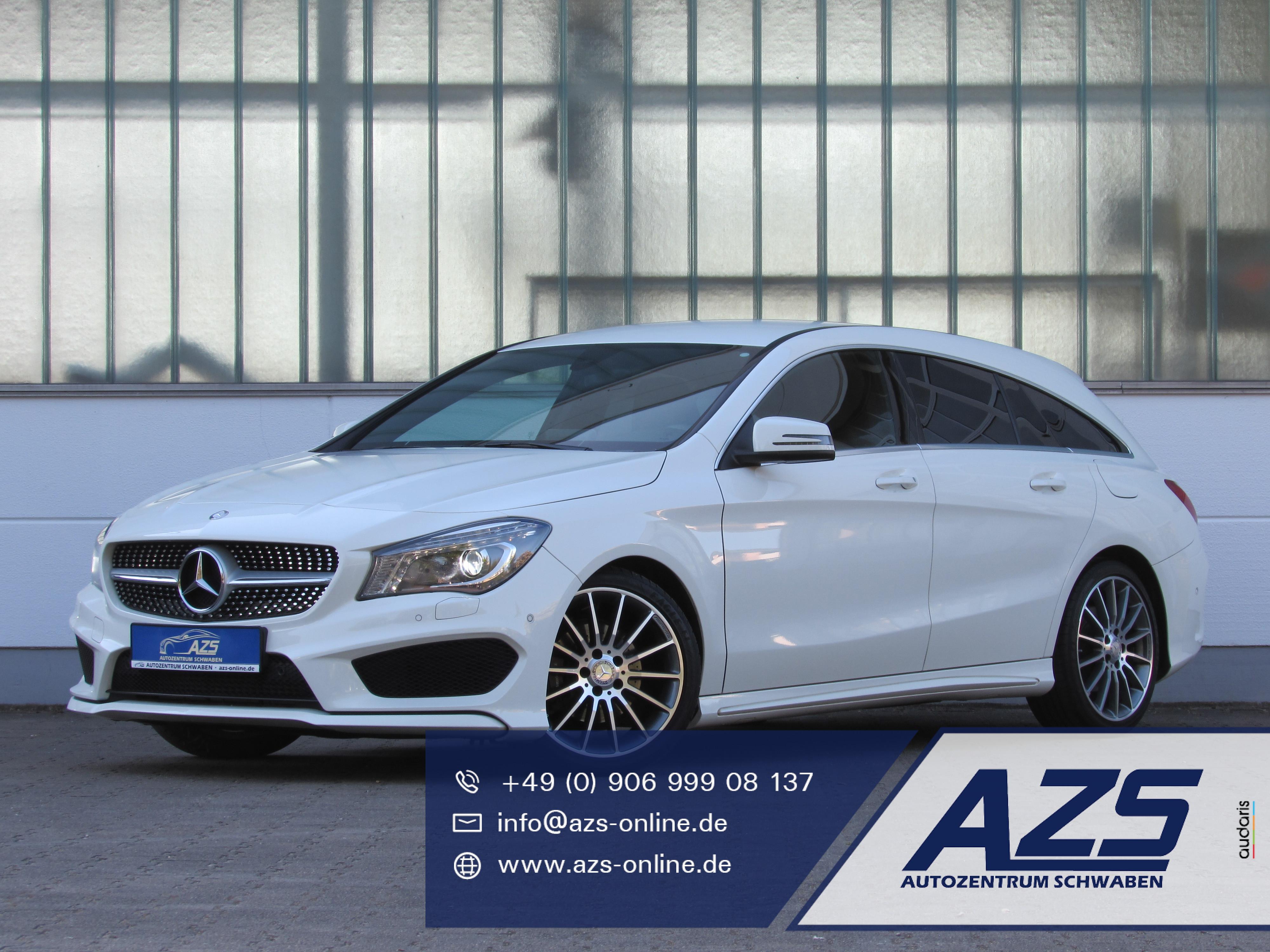 Mercedes-Benz CLA Shooting Brake AMG-Line 1,99%, Jahr 2015, Benzin