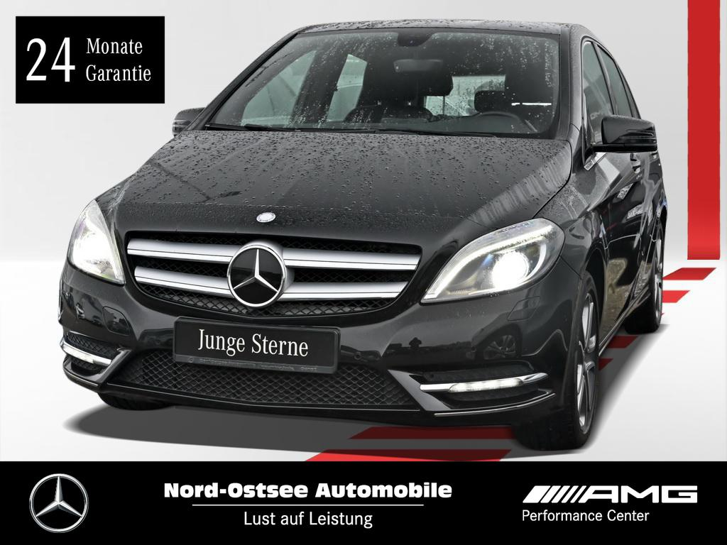 Mercedes-Benz B 220 4M Navi AHK Bi Xenon Totwinkel Sitzh. PDC, Jahr 2013, petrol