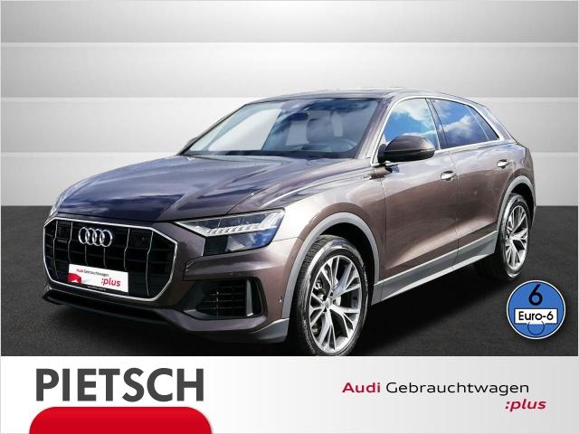 Audi Q8 50TDI quattro-Matrix-LED AHK HUD RFK PSD, Jahr 2019, Diesel