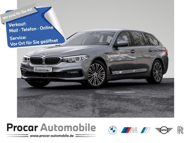 BMW 540i xDrive Touring Sport Line Innovationsp. AHK, Jahr 2018, Benzin