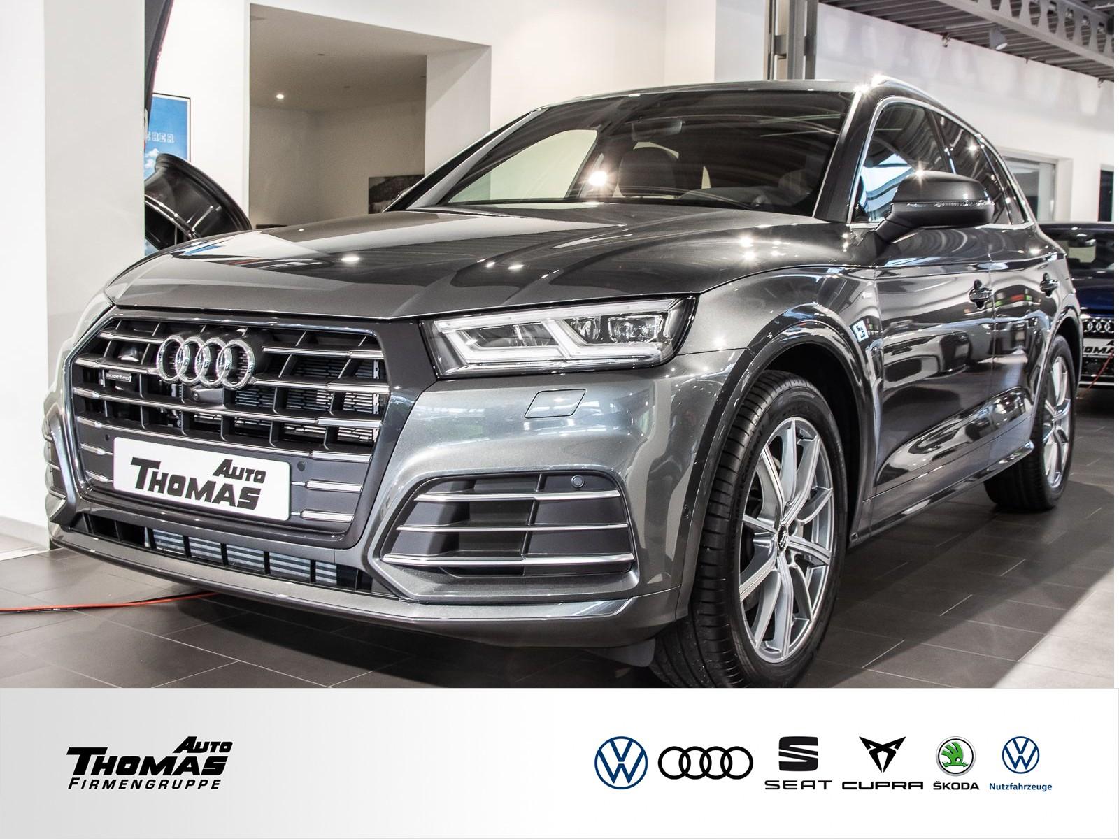Audi Q5 55 TFSIe quattro S tronic+NAVI+S LINE+LED+PDC, Jahr 2021, Hybrid