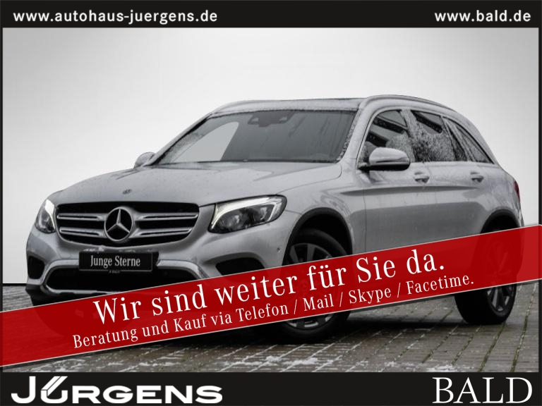 Mercedes-Benz GLC 350 d 4M Exclusive/Comand/ILS/Cam/Pano/Burm, Jahr 2017, Diesel