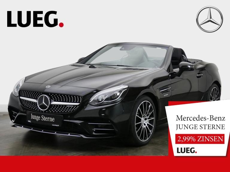 Mercedes-Benz SLC 43 AMG COM+HarmKa+LED-ILS+Distr+Mem+AIRSCARF, Jahr 2019, Benzin