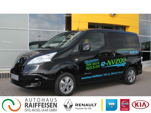 Nissan NV200 Evalia e-Evalia Basis Navi Keyless Rückfahrkam. Multif.Lenkrad NR RDC Klimaautom, Jahr 2019, Elektro